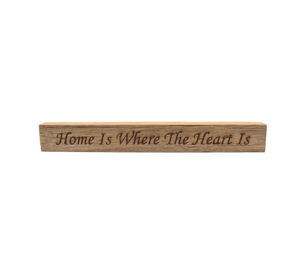 Home Is Where The Heart Is Reclaimed Wood Block Sign Whitetail Woodcrafters,Best Wireless Charging Station For Apple Watch And Iphone