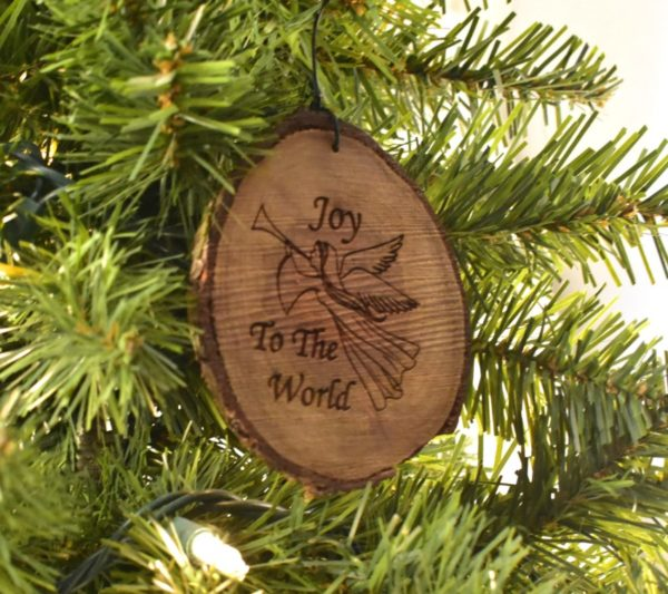 Wooden Christmas Ornament.