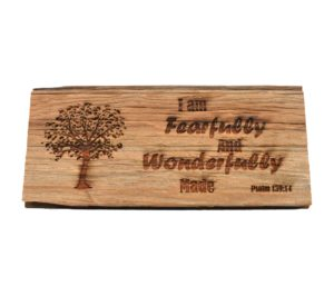 Custom engraved hardwood barnwood sign.